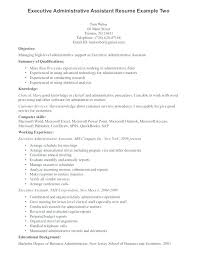 Administrative Assistant Resume Summary Sample
