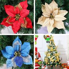 Christmas Xmas Tree Decoration Flowers Hanging