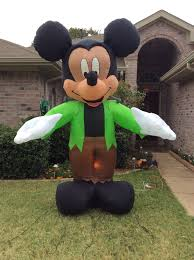 Halloween Airblown Inflatable Lawn Decorations by Image Gemmy Inflatable Mickey Mouse As Monster Jpg Gemmy Wiki