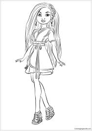 Descendants 2 Coloring Pages Uma