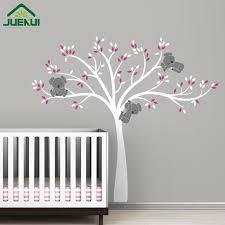 stickers pour chambre d enfant ours koala arbre branches wall sticker pour chambre d enfants
