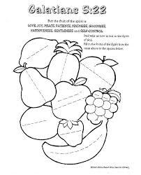 Fruit Of The Spirit Lessons For Kids
