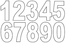 Coloring Pages For Kids To Print Out Numbers Toddler Page Toddlers Printable