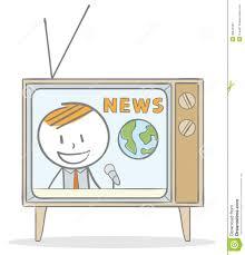 News Anchor Stock Vector Illustration Of Media Communication