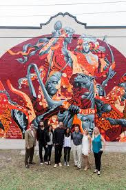 Famous Mural Artists Los Angeles by Tristan Eaton