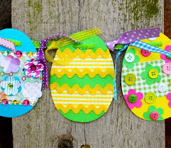 Paper Easter Egg Crafts