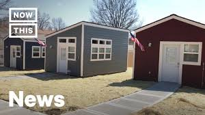 100 Homes In Kansas City A Tiny Home Village Was Built For Homeless Veterans In NowThis