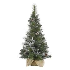 Slim Snow Flocked Christmas Tree by Shop Northlight 3 Ft Mixed Needle Slim Flocked Artificial