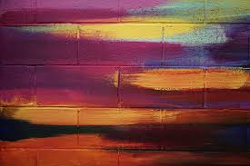 Free Images Creative Sunrise Sunset Texture Evening Line Reflection Color California Painting Brick Wall Street Art Sketch Design Brickwall