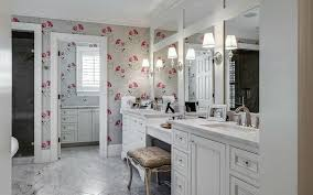 traditional master bathroom with wall sconce by phillips