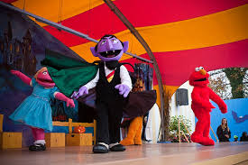 Sesame Place Halloween Parade by Sesame Place Characters Flickr