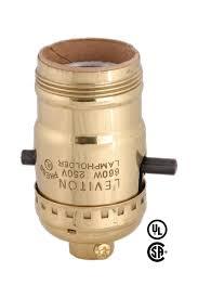 Leviton Keyless Lamp Holder by Leviton Brand Push Thru Socket W Uno Thread 40202g B U0026p Lamp Supply