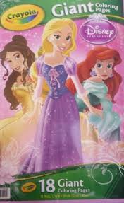 Phone Coloring Disney Frozen Giant Pages About Brand New Crayola Book Princess
