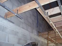 03 e rail placo plafond du rdc notre projet extension maison