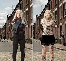 Photographer Strips Tattooed People To Show Whats Hidden Below
