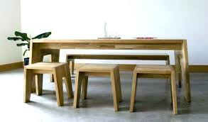 Table Bench Seat With Dining Room Tables Seating Full Size Of