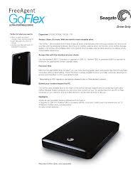 Seagate Goflex Desk Driver by Download Free Pdf For Seagate Freeagent Goflex 1tb Storage Manual