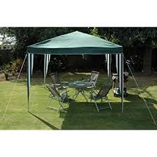 Kingfisher 3 x 3 metre Pop Up Gazebo Party Tent Green and White