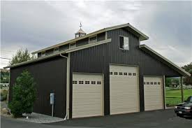 10 ft wide garage door monitor style with lean to 3591 intended for amazing property 12