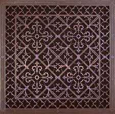 Decorative Wall Air Return Grilles by Decorative Grilles Beaux Arts Classic Products