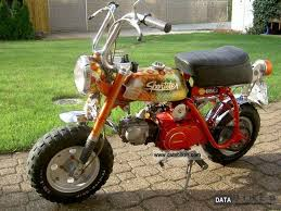 Honda Monkey Z 50 A 1972 Motor Assisted Bicycle Small Moped Photo