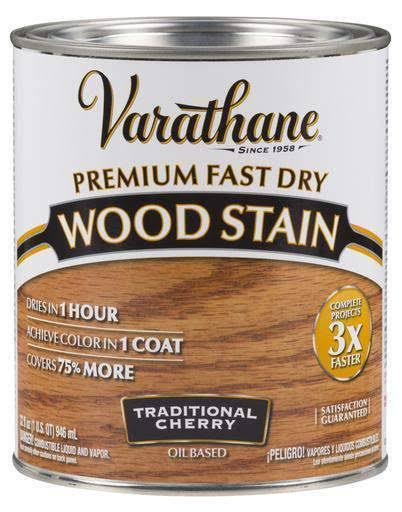 Rust-Oleum Varathane Premium Fast Dry Wood Stain - Traditional Cherry, 32oz