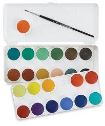 Grumbacher Watercolor Pan Sets