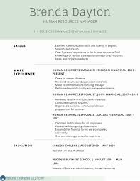 One Page Resume Examples Elegant Good For Job Simple Fresh New Sample Best
