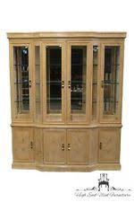 Henredon Breakfront China Cabinet by Breakfront Furniture Ebay