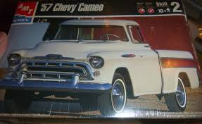 AMT 1957 CHEVY CAMEO PICKUP TRUCK 1:25 MODEL CAR MOUNTAIN FS ...
