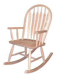 99 Get Prices Nursery Rocking Chair Maywood Rocker Arrow Bow Back Rocker Ready To Stain Or Paint