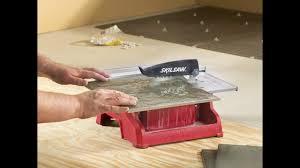 skil 3540 02 7 inch wet tile saw youtube