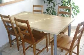 table de cuisine ik table cuisine en bois table pour manger maisonjoffrois