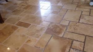 grout color sealing on tumbled travertine baker s travertine