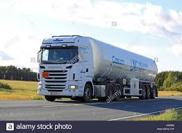 TAMMELA, FINLAND - SEPTEMBER 1, 2017: White Scania Semi Tank Truck ... Semi Trucks Natural Gas Electric Heavyduty Available Models Fuel Efficient Heavy Travels Lng Eesti Gaas Compressed Natural Gas Trucks In The General Mills Fleet A Taste Our Nations Soon To Be Running On Liquefied Hidrolik Pgendalian Transportasi Trailer Untuk Alam Cair Best Truck Manufacturer Battle Freightliner Vs Kenworth Volvo Ups Ordering 400 Cng From Medium Alternative Fuels Data Center How Do Vehicles Work Basics 101 What Contractors Need Know About And
