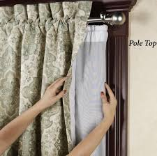 Blackout Curtain Liners Ikea by Home Decoration Cool Pole Top Blackout Curtain Liner Best