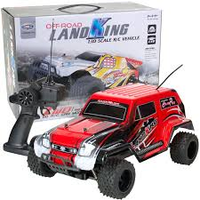 LandKing Radio Remote Control Off Road Racing RC Car Monster Buggy ...