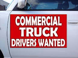 100 Truck Drivers Wanted Amazoncom Commercial Driver Car Door Magnets Magnetic