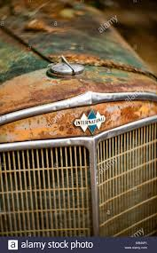 Detail: International 3 Diamond Logo Above The Grill Of An Antique ...