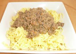 recette pâtes à la viande hachée au curry notée 3 1 sur 5 par
