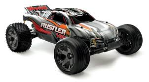 Rustler VXL 1/10 Stadium Truck RTR Silver W/ ID Battery & 4 ...