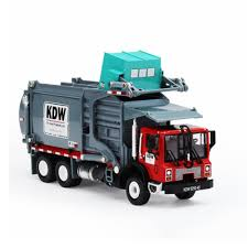100 Sanitation Truck Alloy Materials Handling Garbage Cleaning Vehicle Model 124