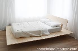 homemade modern ep89 platform bed