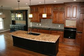 Best Floor For Kitchen by Furniture White Thomasville Cabinets With Oven And Fridge On