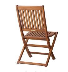 smith hawken 2 piece wood folding patio chair set