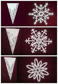Snowflake Paper Cutting Craft