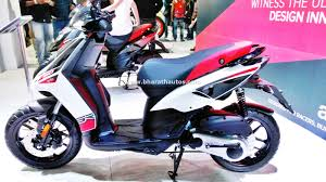 Aprilia Sr 150 Automatic Scooter Side 2016 Auto