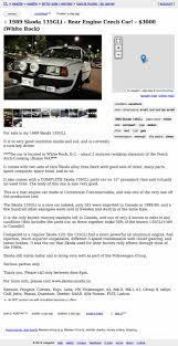 Is This Rare Skoda Worth $3,000? 1937 Buick Roadmaster Gateway Classic Cars 359mwk I Traveled 2000 Miles In A Craigslist Porsche With 1979 Ford F150 Classics For Sale On Autotrader Car Sale Turns Into Armed Robbery Racine Woman Youtube Mason City Iowa Used Trucks And Vans For By 12900 Could This Bigengine Boxster Be Worth Big 1949 Chevrolet 3100 Update Pics More Vehicle Scams Google Wallet Ebay 5500 Does 1988 Cadillac Cimarron Convertible Have Too 1966 C10 Pickup 5087stl 1953 F100