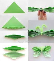 DIY Paper Butterfly Garland Origami Craft