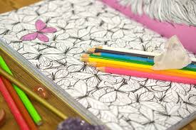 Inside The Anti Stress Coloring Books